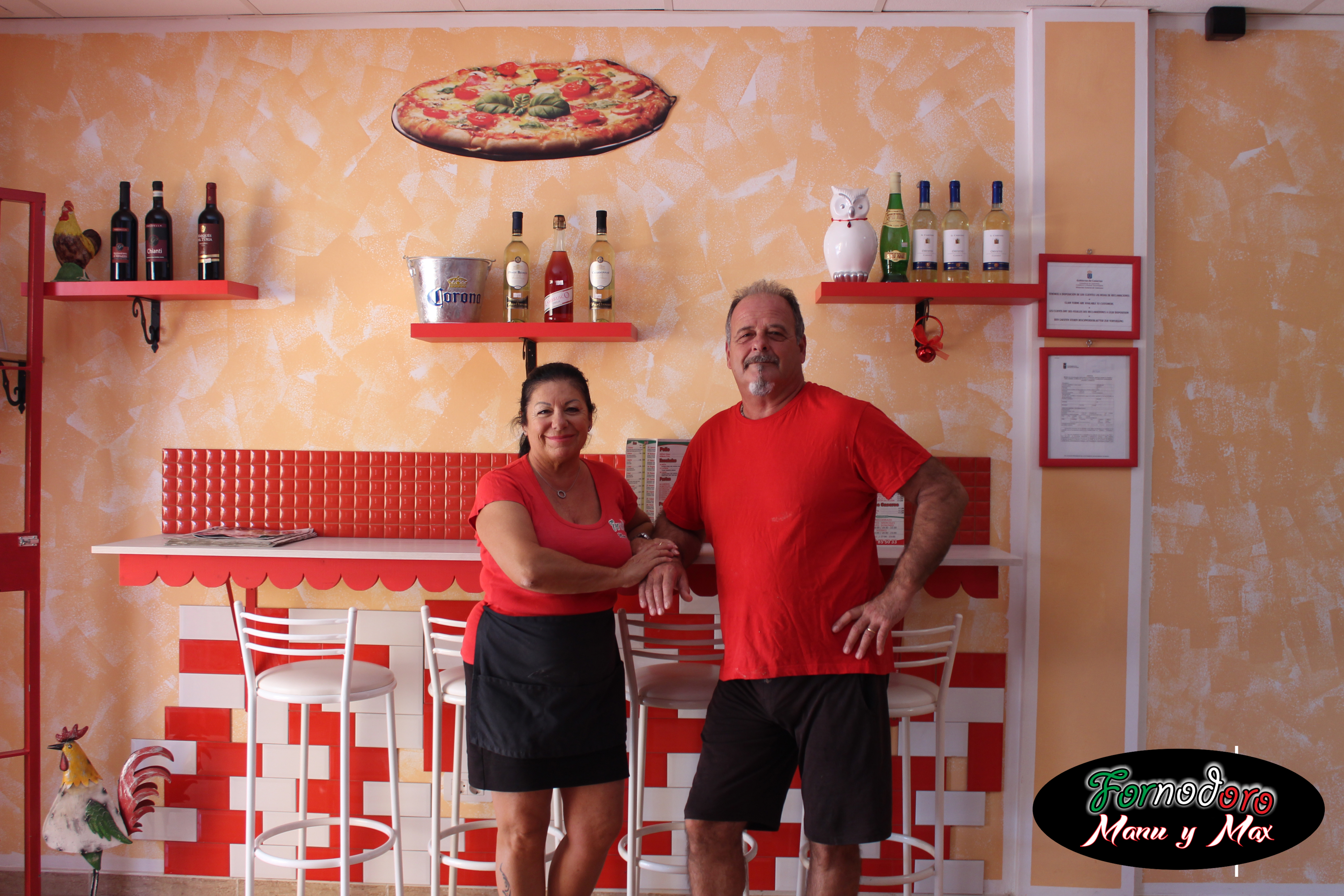 pizzeria en las chafiras fornodoro manu y max