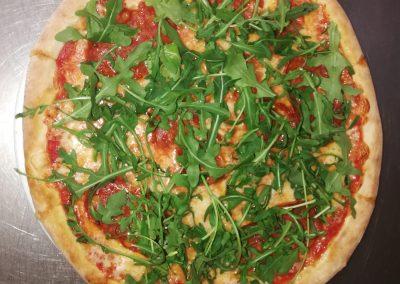 pizza con rucula fornodoro pizzeria