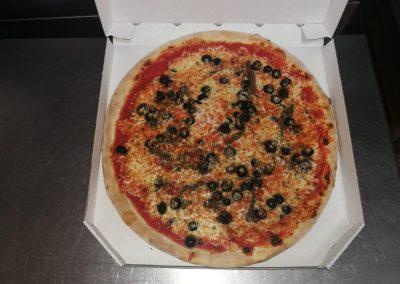 pizza para llevar fornodoro pizzeria